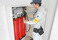 パッケージ消火設備